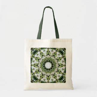 Kaleidoscopic Hosta Tote Bag