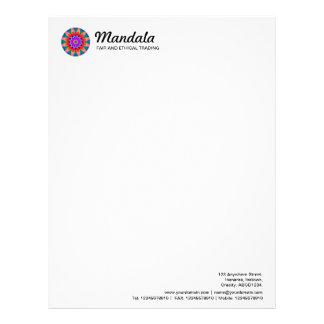 Kaleidoscopic Mandala 03 Letterhead
