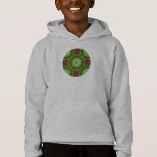 Kaleidoscopic Mandala Holly Berry Design Shirt