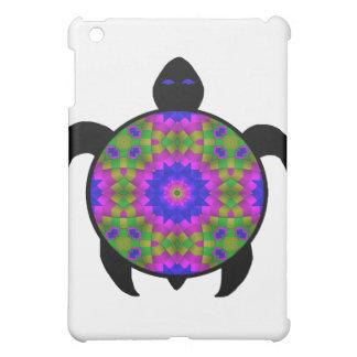 Kaleidoscopic Mandala Turtle Design iPad Mini Cover