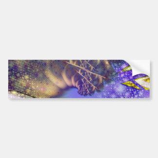 Kaleidoscopic Plume Bumper Sticker