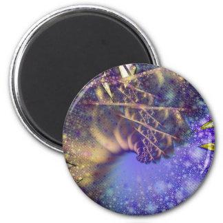 Kaleidoscopic Plume Magnet