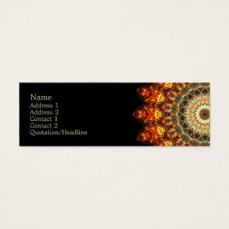Kaleidoscopic | Stylish Mini Business Card
