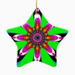 Kaleidozone - Fractal Ceramic Ornament