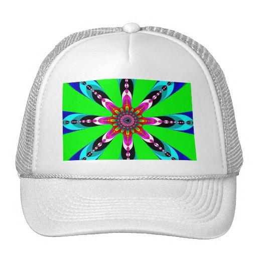 Kaleidozone - fractal gorras