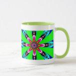 Kaleidozone - Fractal Mug