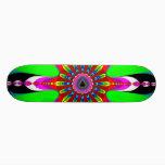 Kaleidozone - Fractal Skateboard Deck