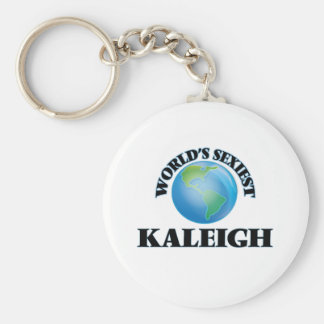 Kaleigh más atractivo del mundo llavero personalizado