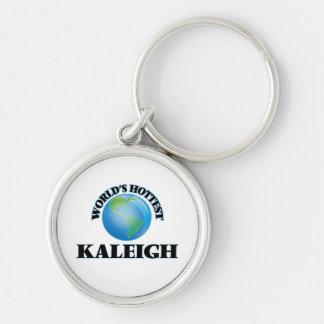 Kaleigh más caliente del mundo llavero personalizado