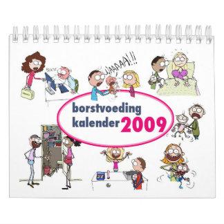 Kalender 2009 de Borstvoeding Calendarios