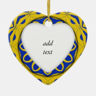 Kali amarillo y azul de K128 Ornaments Para Arbol De Navidad