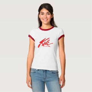Kali - Classy Graffiti Red for Woman T-Shirt