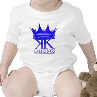 Kali kings crown logo blue baby bodysuits