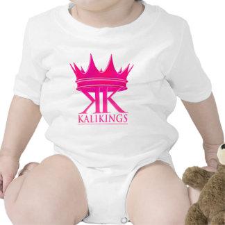 Kali kings crown logo pink tees