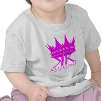 Kali kings crown logo purple tee shirt