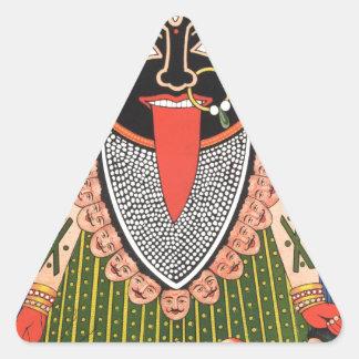 Kali Pegatina Triangular