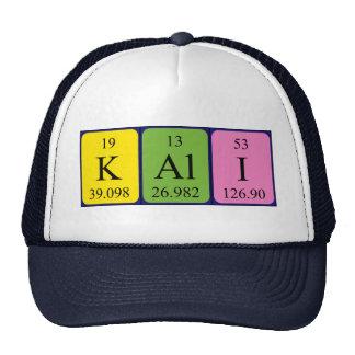 Kali periodic table name hat