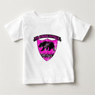 Kali republic shield pink baby T-Shirt