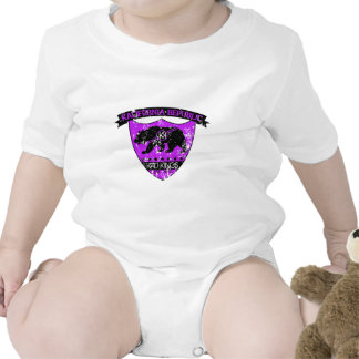 Kali republic shield purple baby creeper