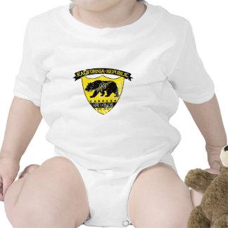 Kali republic shield yellow t shirt