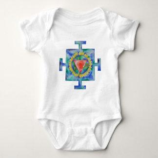 Kali Yantra Baby Bodysuit