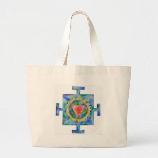 Kali Yantra Large Tote Bag