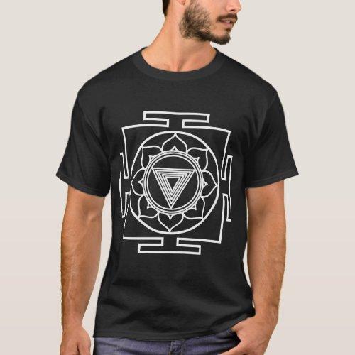 kali yantra wht T_Shirt