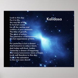 Kalidasa Poem Poster