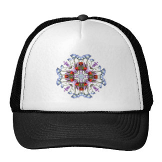 Kaliedoscope Floral Hat