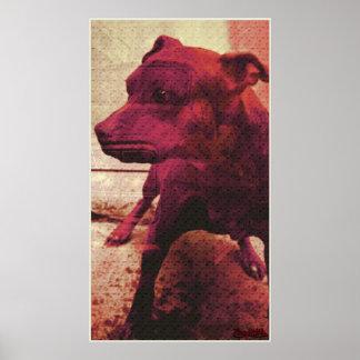 kalifour red print