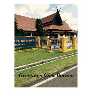 Kalimantan Indonesia island of Borneo Postcard