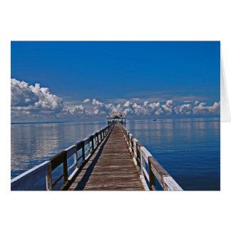 Kalimantan Indonesia Ocean Photo Card