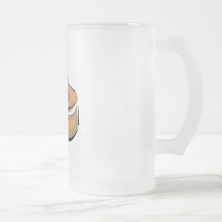 kalimba 16 oz frosted glass beer mug