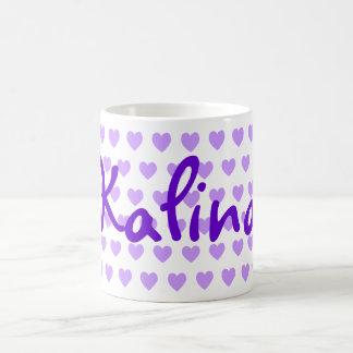 Kalina Purple Heart Coffee Mug