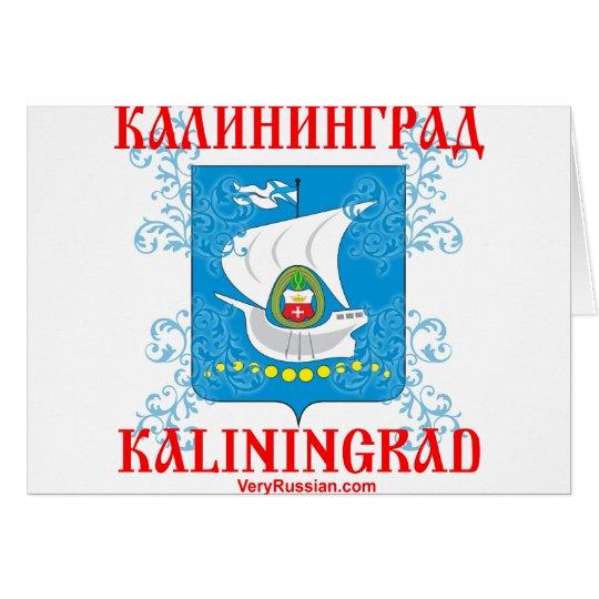 Kaliningrad city Coat of Arms Card
