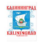 Kaliningrad city Coat of Arms Postcard