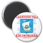 Kaliningrad city Coat of Arms Refrigerator Magnets