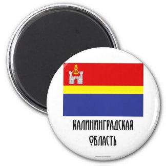 Kaliningrad Oblast Flag Magnet