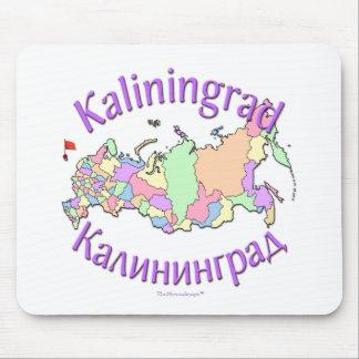 Kaliningrad Russia Map Mouse Pad