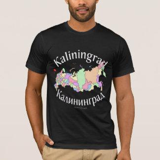 Kaliningrad Russia Map T-Shirt