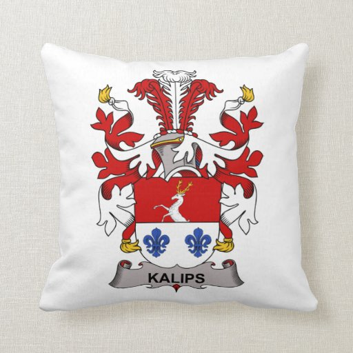 Kalips Family Crest Pillows