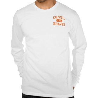 Kalispell - Braves - joven - Kalispell Montana Camisetas