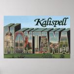 Kalispell, Montana - escenas grandes de la letra Póster