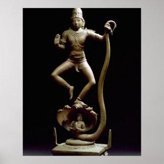 Kaliyakrishna, Chola, Tamil Nadu (bronce) Póster