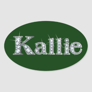 """Kallie"" Diamond Bling Sticker"