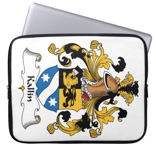 Kallin Family Crest Computer Sleeve