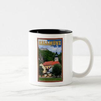 Kallmunz Church and Castle Ruins Two-Tone Coffee Mug