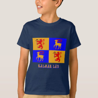 Kalmar län flag with name T-Shirt