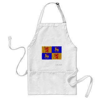 Kalmar län waving flag adult apron