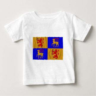 Kalmar län waving flag baby T-Shirt
